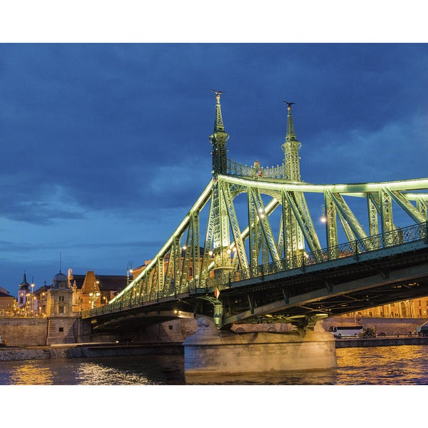 Stewart Parr 'The Liberty Bridge of Budapest Hungry' Unframed Photo Print