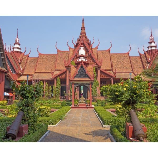 Stewart Parr 'Phnom Penh, Cambodia's National Museum' Unframed Photo Print