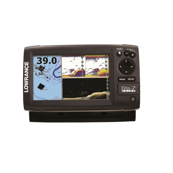 Lowrance Elite 7 CHIRP Combo Fish Finder