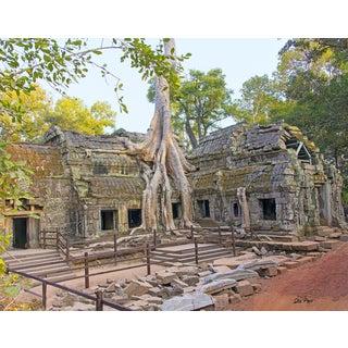 Stewart Parr 'Ta Proham temple un-touched in Siem Reap, Cambodia' Unframed Photo Print