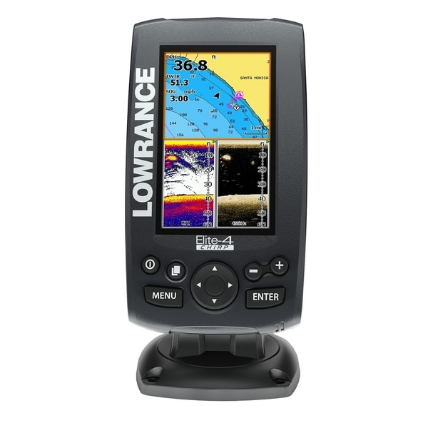 Lowrance Elite 4 CHIRP Combo Fish Finder
