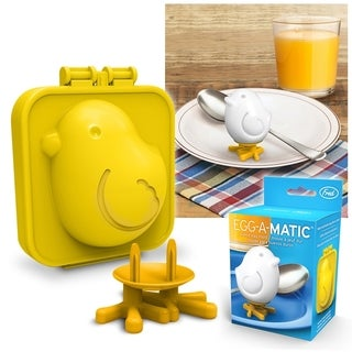 Fred & Friends EGG-A-MATIC Funny Cute Boiled Egg Sushi Rice Bento Maker Silicone Chick Mold