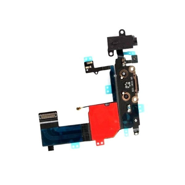 INSTEN Headphone Audio Jack Charger Port Dock CC Flex Ribbon Cable For Apple iPhone 5/ 5s
