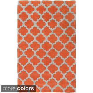 Hand-Tufted Elaine Lattice Polyester Rug (9' x 13')