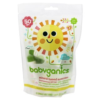 BabyGanics Sunscreen Moisturizing Lotion SPF 50 (Pack of 12)