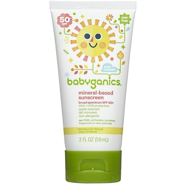 BabyGanics 2-ounce Cover-up Baby Sunscreen Lotion SPF 50