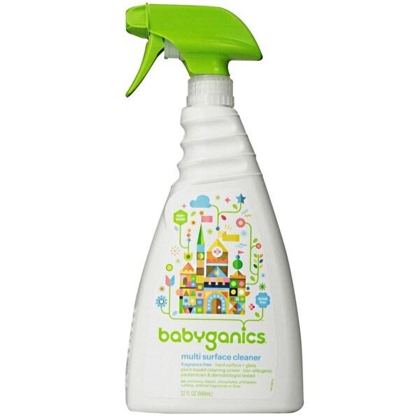BabyGanics 32-ounce Multi Surface Cleaner (Fragrance-free)