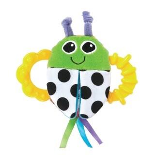Lamaze High-contrast Flip-Flop Bug Rattle