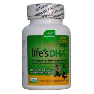 Martek Life's DHA Omega-3 Vegetarian Kids Softgels 100mg DHA