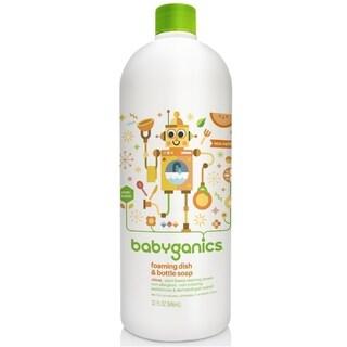 BabyGanics Foaming Dish and Bottle Soap Refill Citrus - 32-ounce