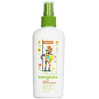 BabyGanics Shoo Fly Bye Deet- Natural Insect Repellent - 6-ounce
