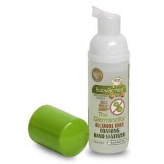 BabyGanics Alchohol- Foaming Hand Sanitizer On-the-Go 1.69-ounce Tangerine