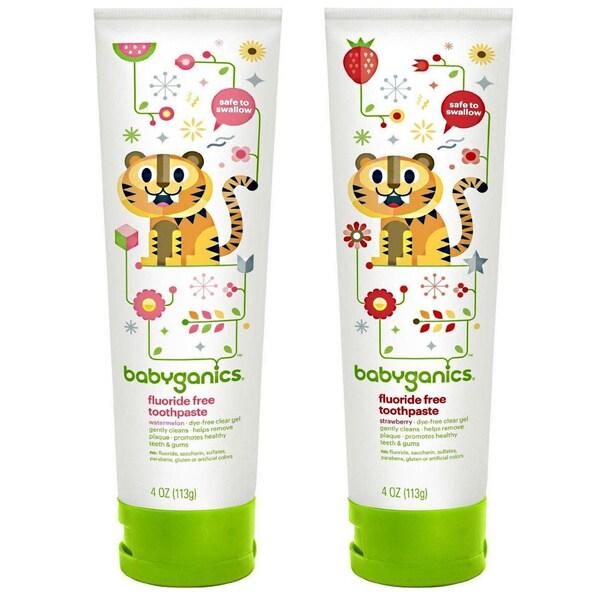 BabyGanics Fluoride- Toothpaste 4-ounce
