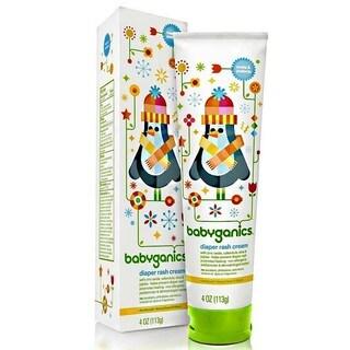 BabyGanics Soothing Diaper Rash Cream - 4-ounce