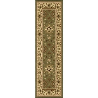 Napa Collection Shayd Green Indoor/ Outdoor Olefin Area Rug (2'3 x 8')