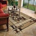 Indoor/ Outdoor Napa Collection Dreco Multi Indoor/ Outdoor Olefin Area Rug (3'10 x 5'5)