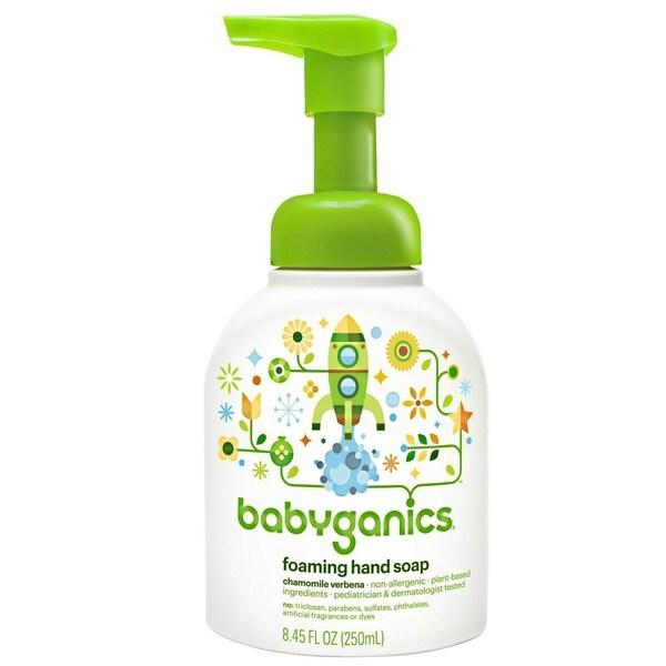 BabyGanics Foaming Hand Soap 8.45-ounce - Chamomile Verbena
