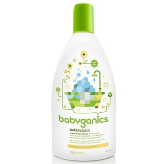 BabyGanics Chamomile Verbena Bubble Bath - 20-ounce