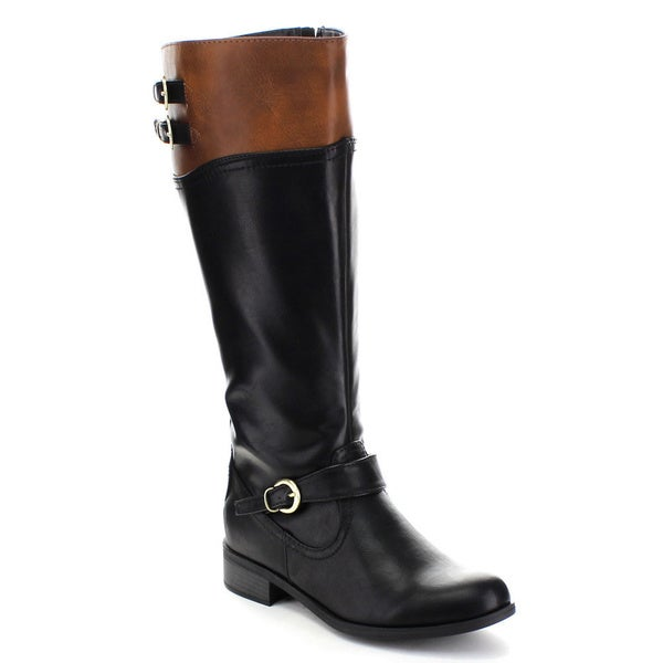 Soda Golf Women's GOLF Buckled Riding Boots