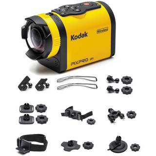 Kodak PIXPRO SP1 Action Camera with Extreme Pack