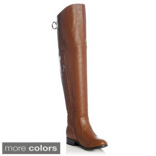 NY VIP Women's Over the Knee Lace-up Riding Boot
