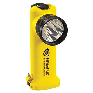 Survivor LED Flashlight (Yellow AC/ DC)