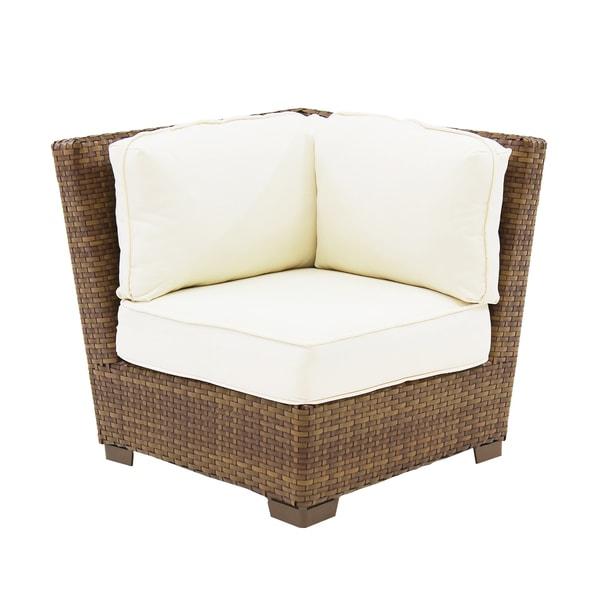 St Barths Modular Corner Chair W Cushion Patio Furniture Garden Deck Yard Sof