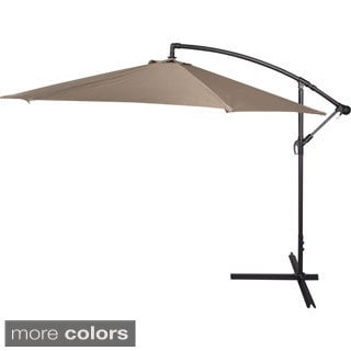 10-foot Deluxe Offset Patio Umbrella