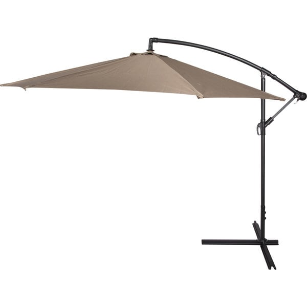10 foot deluxe offset patio umbrella 16925606