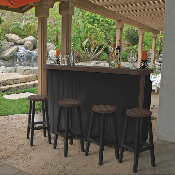 Greenwood Huntington 5-piece Big Bar Set with Two-Tone Finish