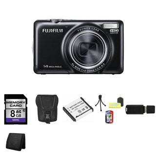 Fujifilm JX370 14MP Black Digital Camera 8GB Bundle