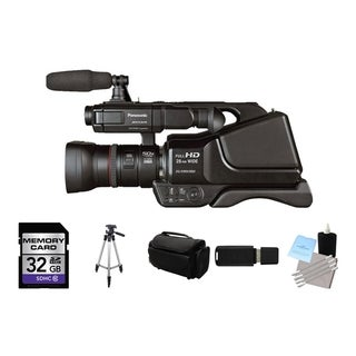 Panasonic AG-AC8PJ AVCCAM HD Shoulder-mount Camcorder Bundle