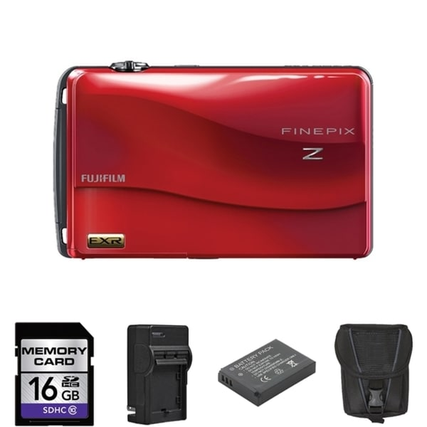 Fujifilm FinePix Z700EXR Digital Camera 32GB Bundle