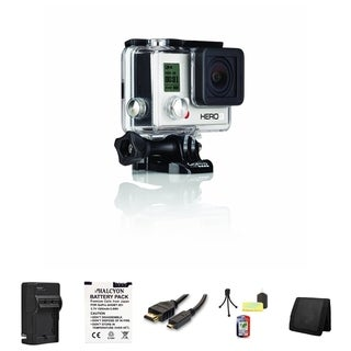 GoPro HERO3 White Edition Camera Accessory Bundle