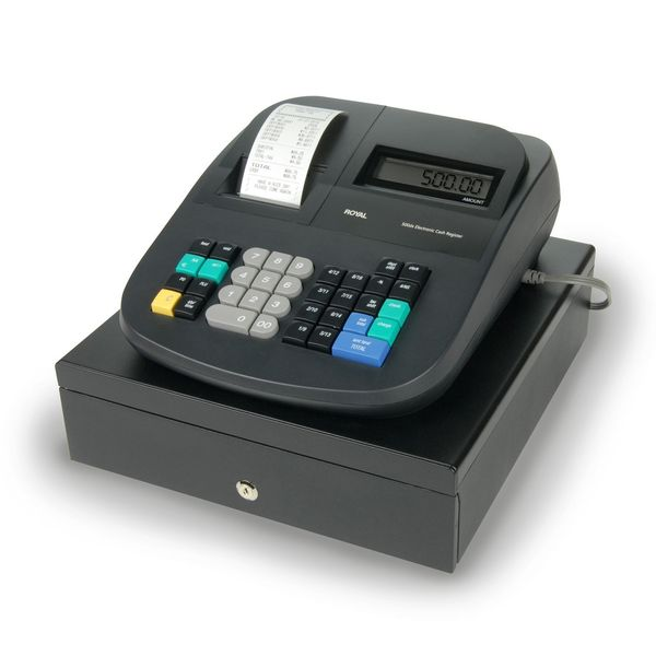 Royal 500DX Digital Cash Register (Refurbished)
