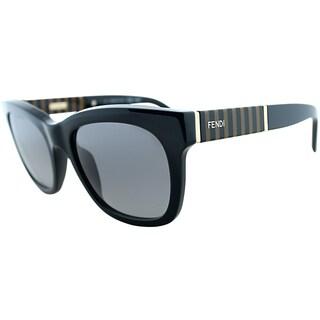 Fendi Women's FS 5351 001 Black Square Sunglasses