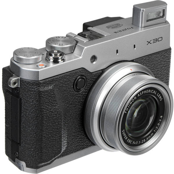 Fujifilm X30 12MP Silver Digital Camera