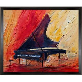 Justyna Kopania Piano Framed Fine Art Print
