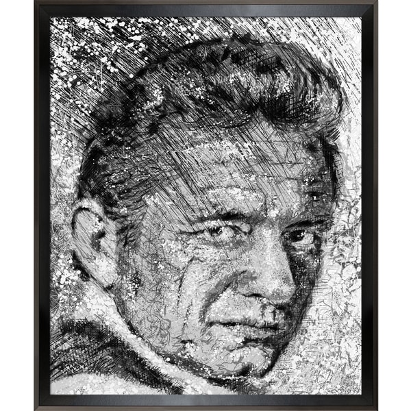 Jeffrey Pierson Johnny Cash Framed Fine Art Print