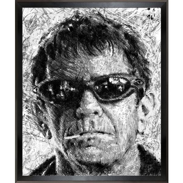 Jeffrey Pierson Lou Reed Framed Fine Art Print