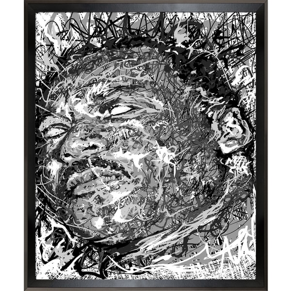 Jeffrey Pierson Martin Luther King Jr Framed Fine Art Print