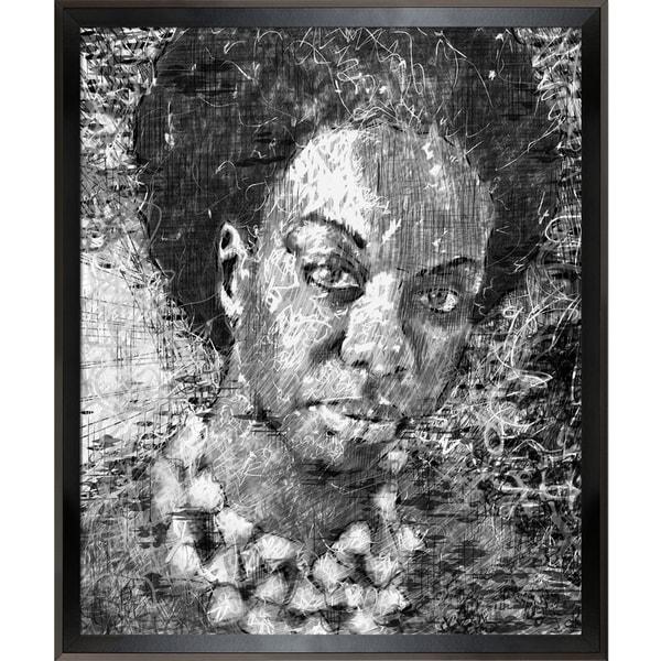Jeffrey Pierson Nina Simone Framed Fine Art Print