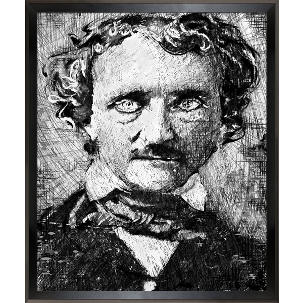 Jeffrey Pierson Poe Framed Fine Art Print