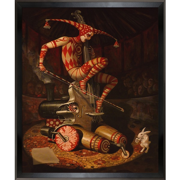 Adrian Borda Agaric Flying Dutchman Framed Fine Art Print