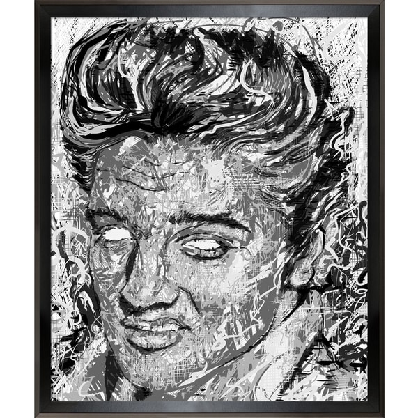 Jeffrey Pierson Elvis Presley Framed Fine Art Print