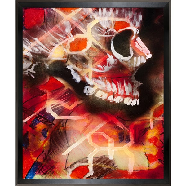 Jeffrey Pierson Death Head Framed Fine Art Print
