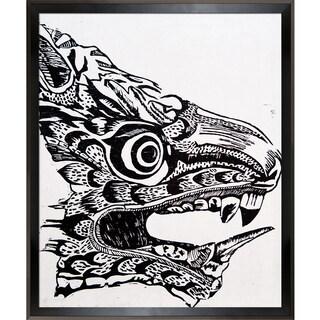 Jeffrey Pierson Dragon Head Framed Fine Art Print