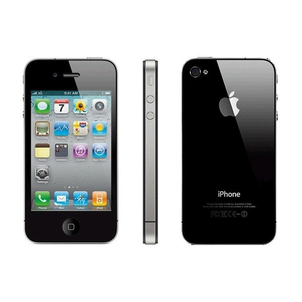 Apple 8GB iPhone 4S Black Unlocked Phone