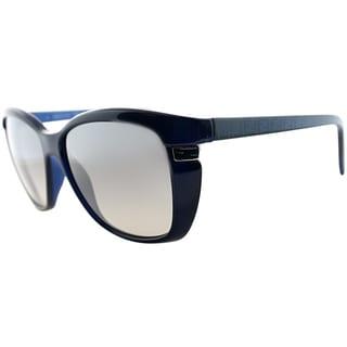 Fendi Women's FS 5258 424 Navy Blue Soft Cat Eye Sunglasses