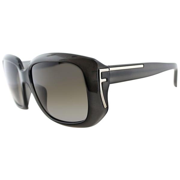 Fendi Womens FS 5327 063 Grey Sunglasses